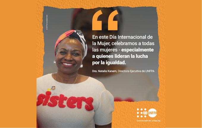 """El tema del Día Internacional de la Mujer 2021 es: """"Mujeres líderes: Por un futuro igualitario en el mundo de la Covid-19""""."""