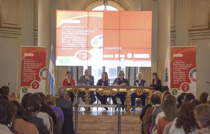 El objetivo del evento es dar respaldo al proyecto de ley nacional que regule el ejercicio de la profesión de las/os Licenciadas/os en Obstetricia.