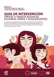 Guía de intervención frente a abusos sexuales en niños, niñas y adolescentes