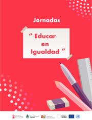 Tapa jornadas educar en igualdad